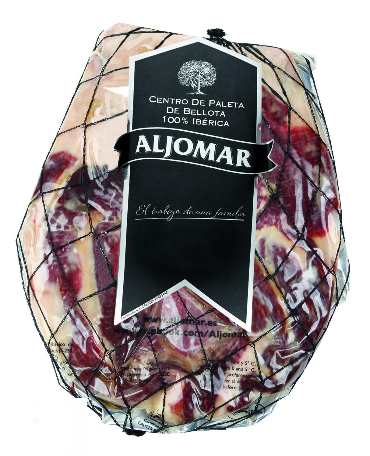 Presa Ibérica de bellota Aljomar  con chimichurri de cebollino