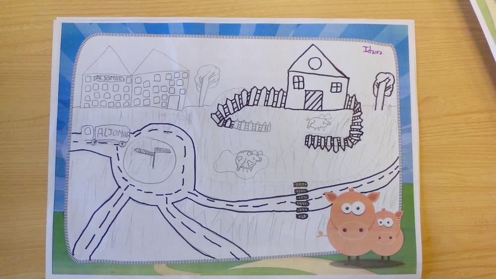 Dibujo CEIP Nuevo Carbajosa sobre aljomar (19)