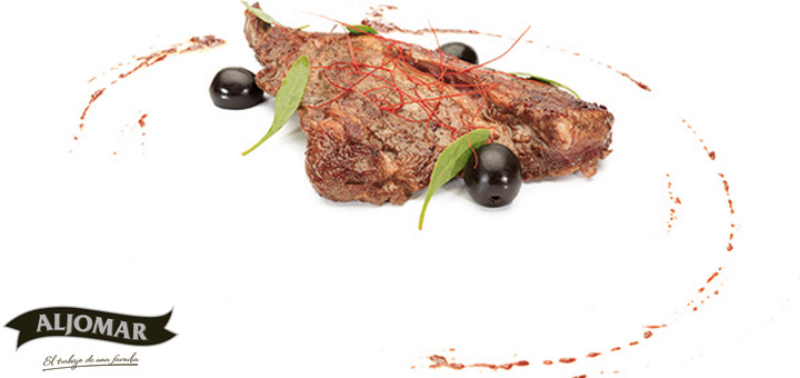 Jamones-Aljomar_Arrabal_recetario_Pluma_adobo_aceitunas