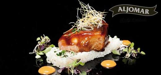 Jamones-Aljomar_Arrabal_recetario_punta-de-lomo-vino-ribera-y-arroz.
