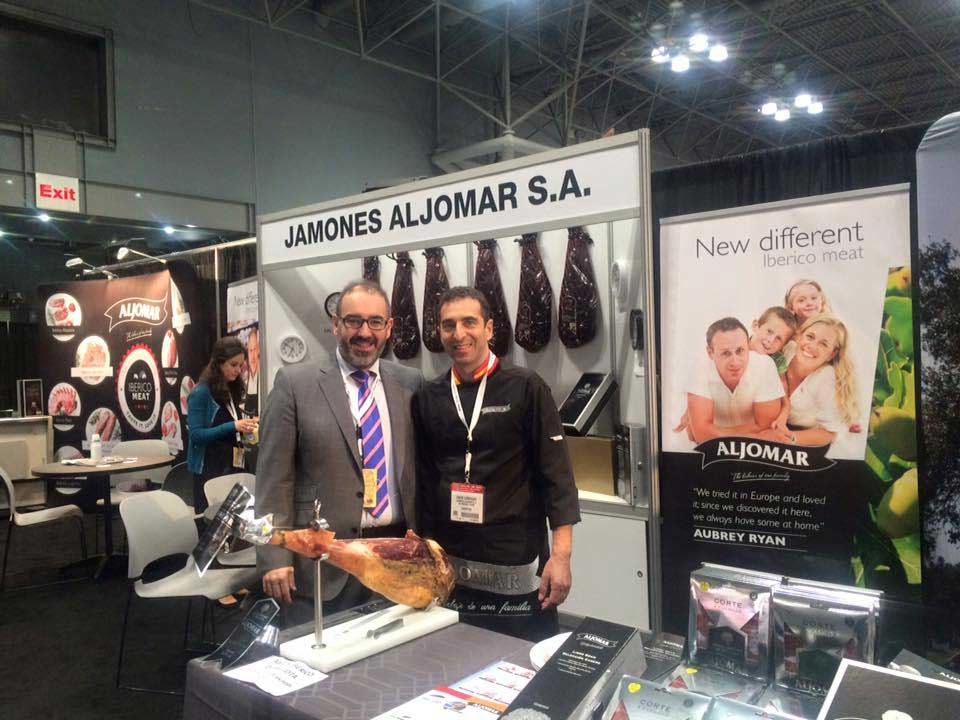 Jamones Aljomar Fancy Food NY 2015 15 Copia Blog De