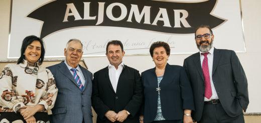 Martin Berasategui junto a la familia Aljomar