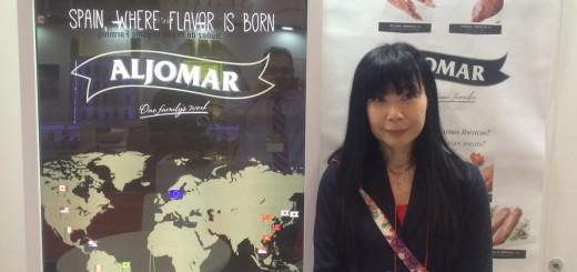 Noriko-traductora Jamones Aljomar Foodex-dest blog