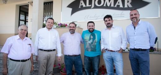 Visita Arrabal a Fabrica Aljomar