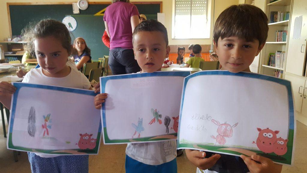 niños dibujo