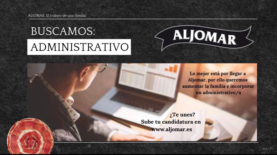 Oferta administrativo Aljomar