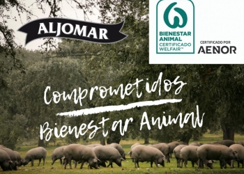 Aljomar receives the Animal Welfare Certification from AENOR